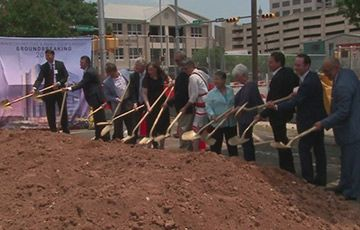 Groundbreaking marks start of construction on new Travis County Civil and Family Court